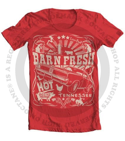 Kid's Barn Fresh Dodge Charger T-Shirt