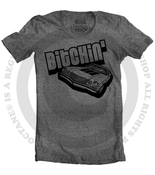 Men's HoO High on Octane Bitchin' Muscle Car T-Shirt (Color Options)