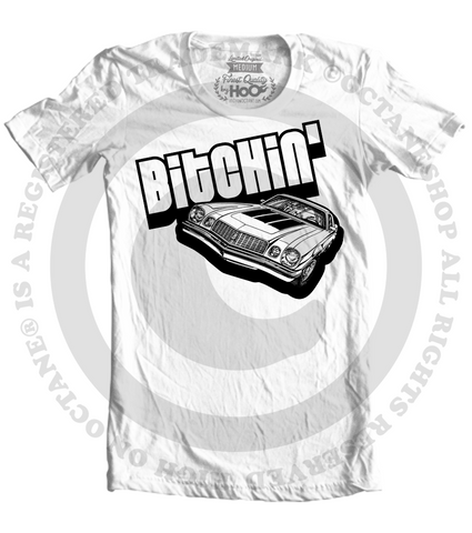 Men's High on Octane® Bitchin'© Muscle Car T-Shirt (Color Options)