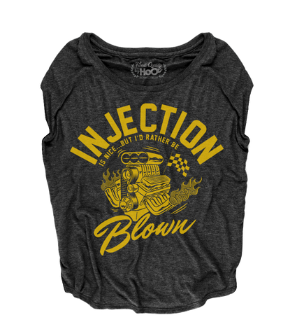 Women's High on Octane® Injection is Nice But I'd Rather Be Blown© Loose Fit Short Sleeve Top