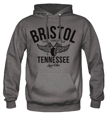 Men's High on Octane® Bristol Vintage Racing© Pull Over Hoody