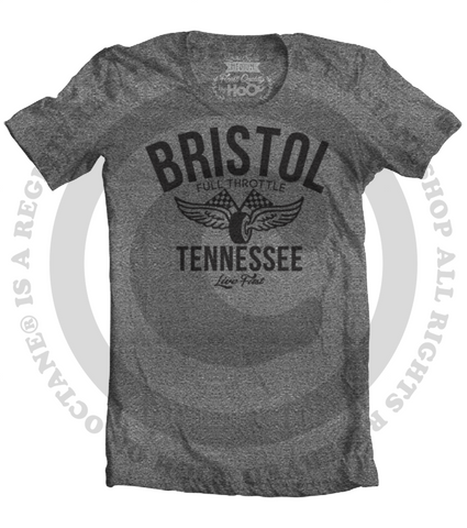 Men's HoO High on Octane Bristol Vintage Racing T-Shirt (Color Options)