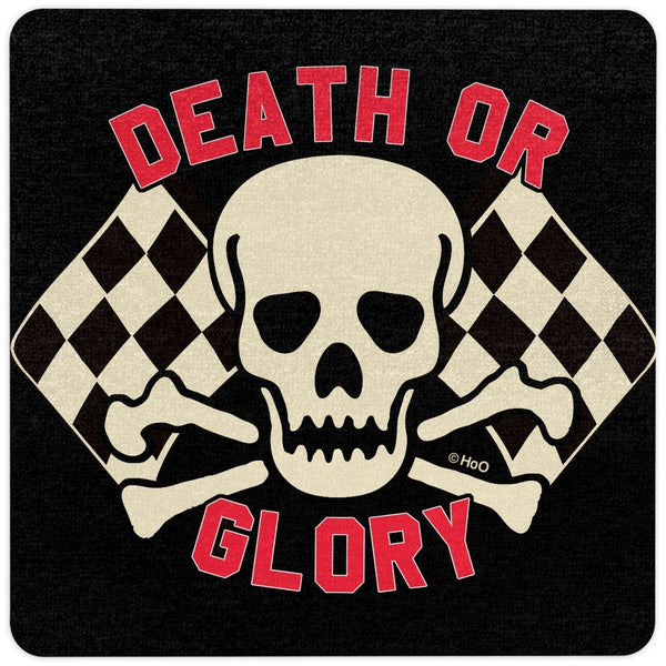 Death or Glory Shop Floor Mat