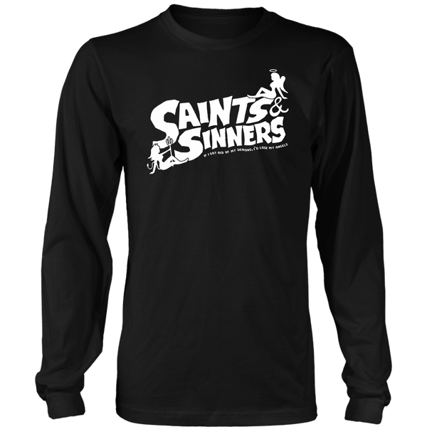 Unisex High on Octane® Saints & Sinners Long Sleeve Shirt