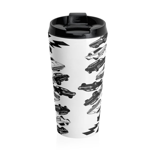 Muscle Car Mania Stainless Steel Travel Mug