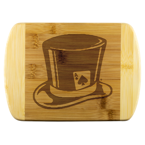 High on Octane® Top Hat Organic Cutting Board
