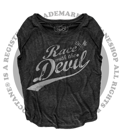 "Women's Race With The Devil ""Old School Classic"" Loose Fit Short Sleeve Top"