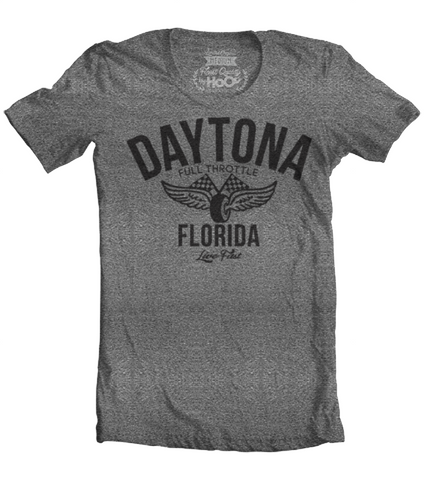 Men's HoO High on Octane Daytona Vintage Racing T-Shirt (Color Options)