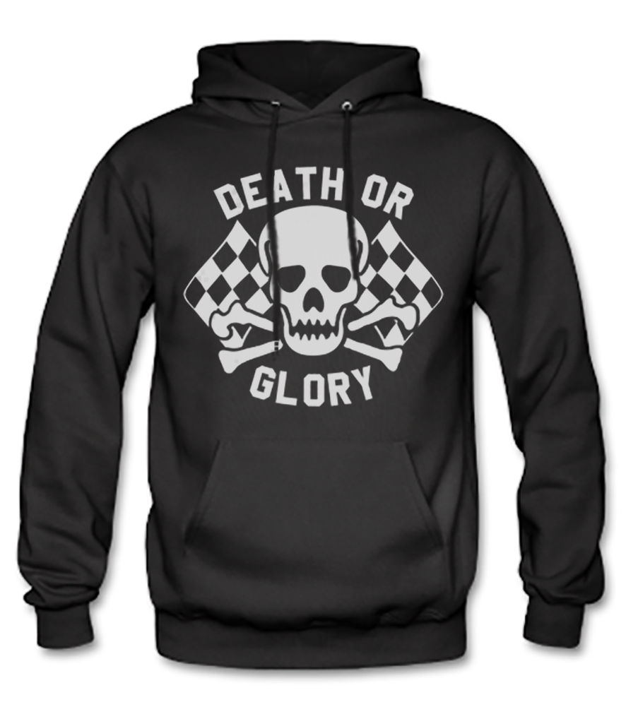 Men's HoO High on Octane Death or Glory Pull Over Hoody