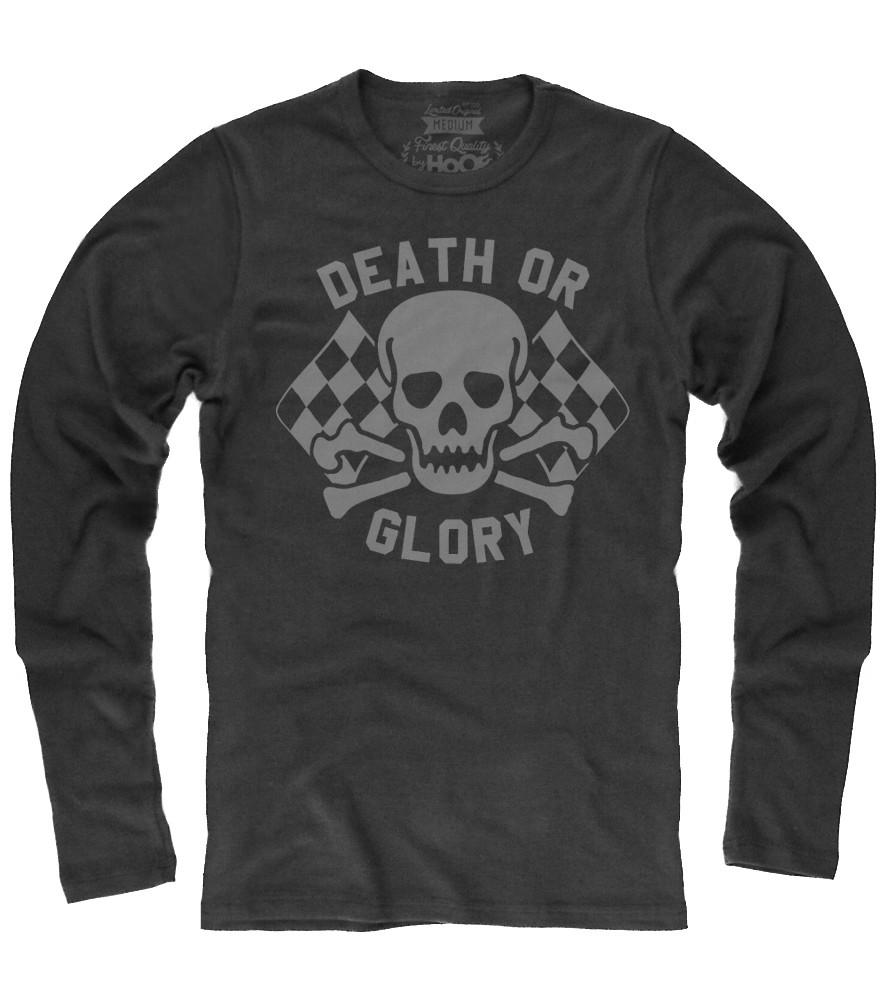 Men's HoO© High On Octane® Death or Glory Skull© Thermal