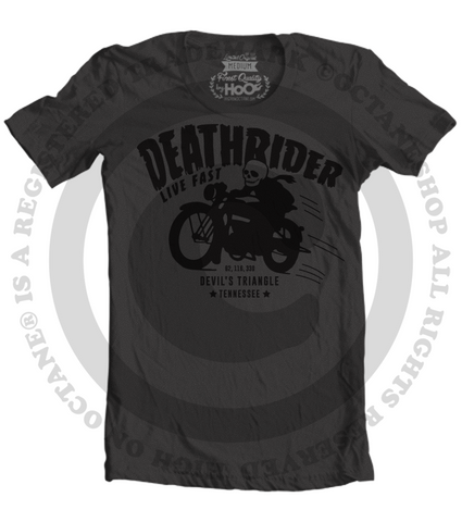 Men's HoO High on Octane Deathrider Devil's Triangle T-Shirt (Black)