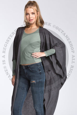 Women's Loose Fit Cozy Cardigan Fashion Wrap