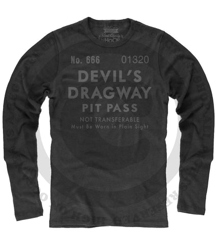 Men's HoO High on Octane Devil's Dragway Pit Pass Thermal