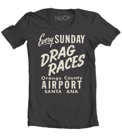 Men's High on Octane® Every Sunday© Drag Racing T-Shirt (Color Options)