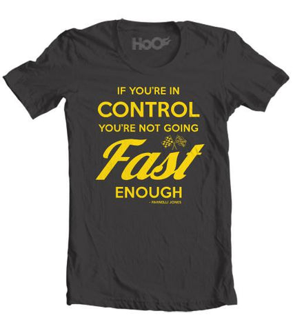 Men's HoO High on Octane Fast Enough Graphic T-Shirt (Color Options)