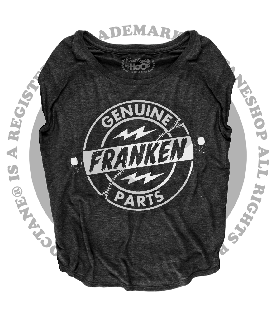 Women's High on Octane® Genuine Franken Parts© Loose Fit Short Sleeve Top