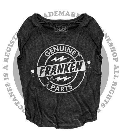 Women's HoO High on Octane Genuine Franken Parts Loose Fit Short Sleeve Top