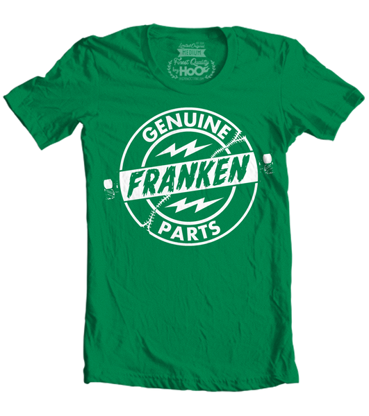 Women's HoO High on Octane Genuine Franken Parts Graphic T-Shirt (Color Options)