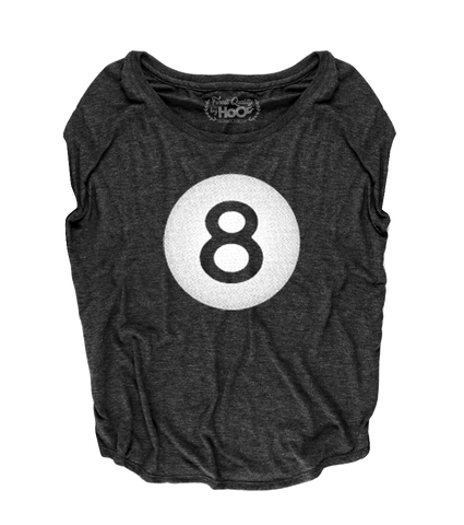 Women's HoO High on Octane 8 Ball Loose Fit Short Sleeve Top