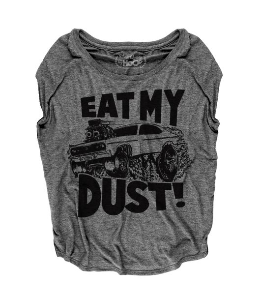 Women's HoO High on Octane Eat My Dust Loose Fit Short Sleeve Top