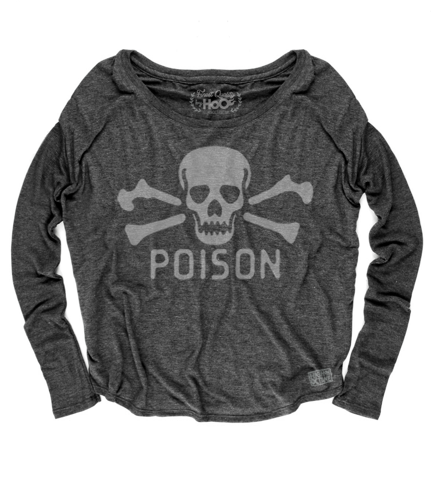 Women's HoO High on Octane Poison Loose Fit Long Sleeve Top