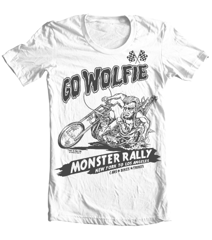 Kid's High on Octane® Go Wolfie© Vintage T-Shirt