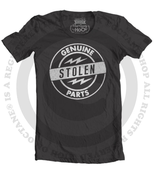 Women's HoO High on Octane Genuine Stolen Parts Graphic T-Shirt (Color Options)