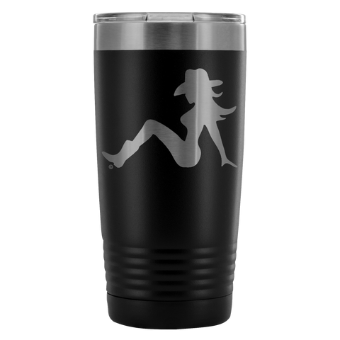 High on Octane® Cowgirl Trucker 20 Ounce Vacuum Tumbler
