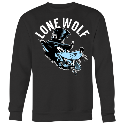 Unisex High on Octane® Lone Wolf Old School Sweatshirt