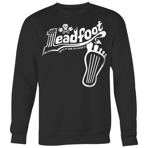 Unisex High on Octane® Leadfoot Old School Sweatshirt