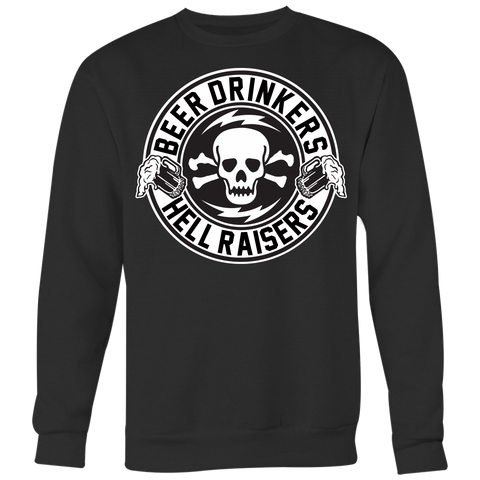 Unisex High on Octane® Beer Drinkers Old School Sweatshirt