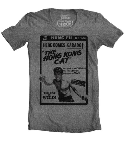 Men's HoO High on Octane Hong Kong Cat Kung Fu Workout T-Shirt (Color Options)