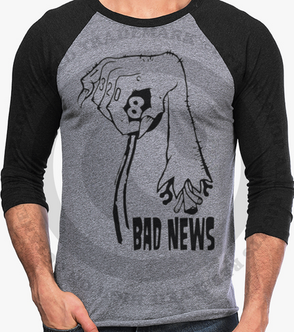 Men's HoO High on Octane Bad News Vintage Racing Raglan
