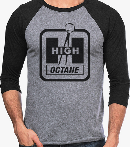 Men's HoO High on Octane High Octane Shifter Vintage Racing Raglan