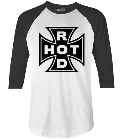 Men's HoO High on Octane Hot Rod Raglan