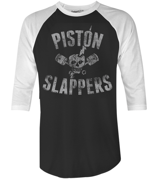 Men's HoO High on Octane Piston Slappers Vintage Racing Raglan