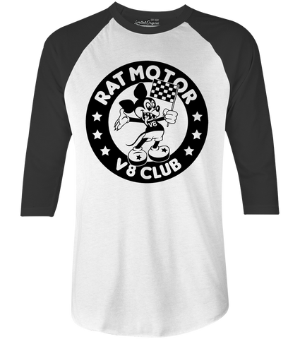 Men's HoO High on Octane Rat Motor Raglan
