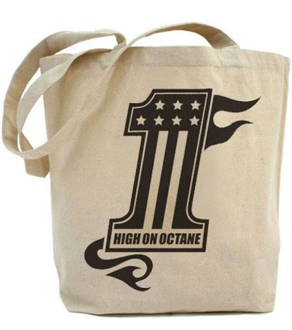 High on Octane® No. 1 Live Fast© Tote Bag
