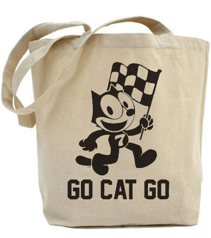 HoO High on Octane's Go Cat Go Tote Bag
