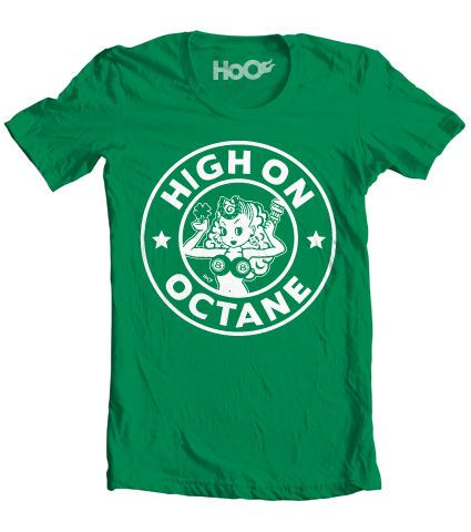 Women's HoO High on Octane Daily Grind Fuel T-Shirt