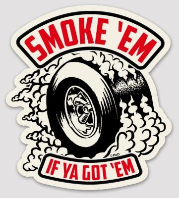 High on Octane® Smoke 'Em Sticker