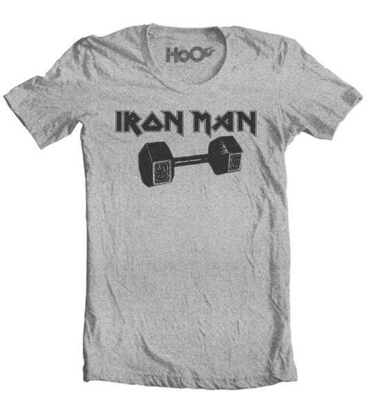 Men's HoO High on Octane Iron Man Workout T-Shirt (Color Options)
