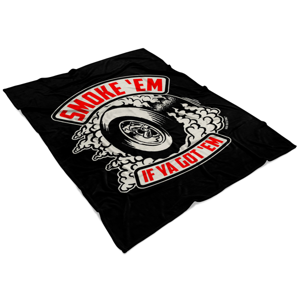 High on Octane® Smoke 'Em Fleece Blanket