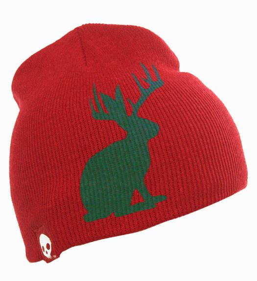 SKVLL® Jackalope© Holiday Beanie Hat