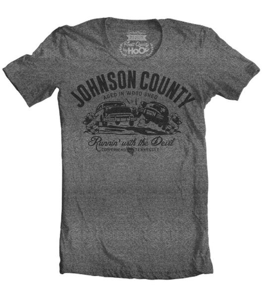 Men's HoO High on Octane Johnson County Run with the Devil T-Shirt (Color Options)