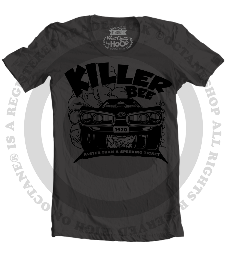 Men's HoO High on Octane KillerBee T-Shirt (Black)