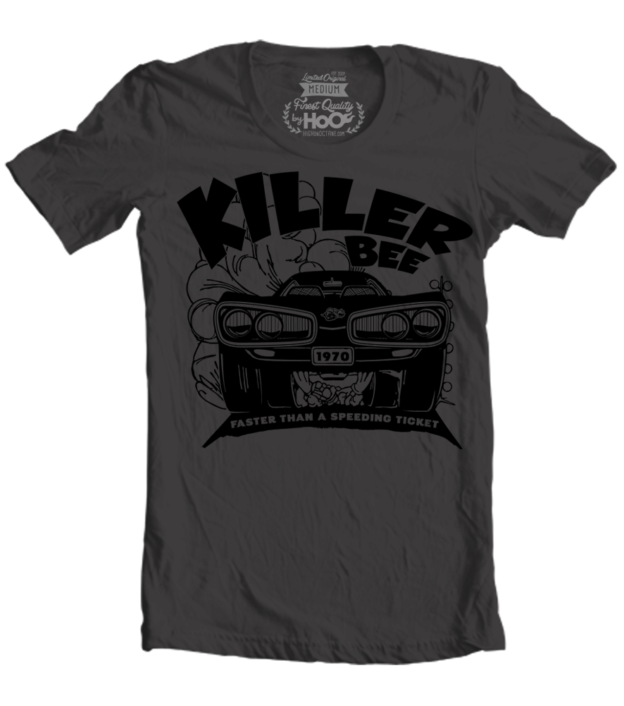 Women's HoO High on Octane KillerBee T-Shirt (Black)
