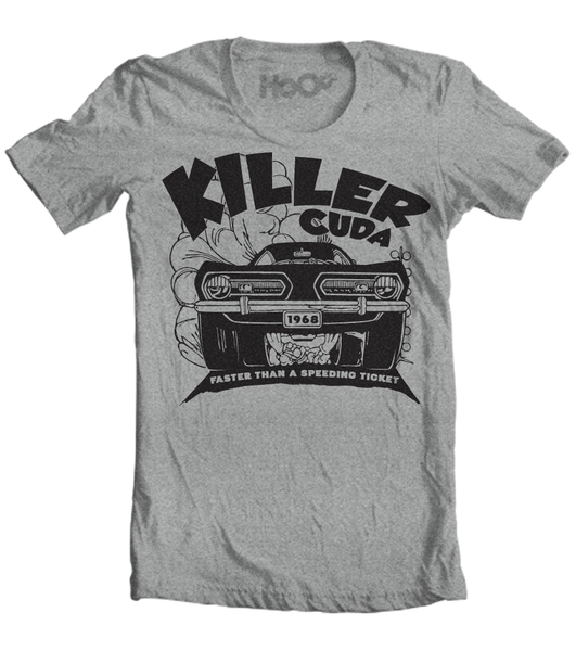 Men's KillerCuda T-Shirt (Color Options)