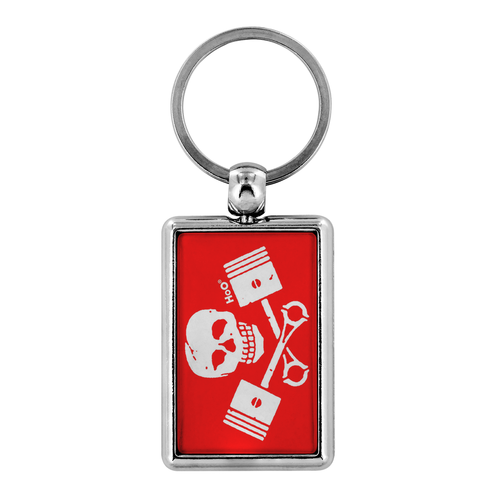 High on Octane® Death or Glory Keychain