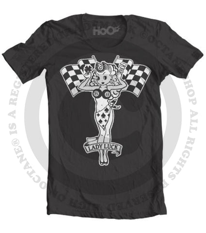 Men's HoO High on Octane Lady Luck T-Shirt (Color Options)